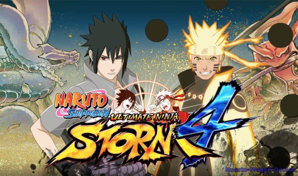 Naruto MUGEN Konoha Legends naruto Ninja Battle V4 Скачать